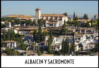 Excursión al barrio del Albaicin y Sacromonte