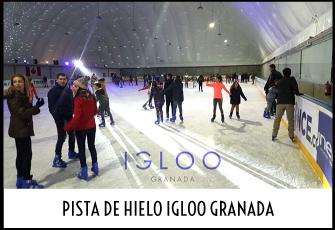 Excursión a la pista de Hielo Igloo de Granada